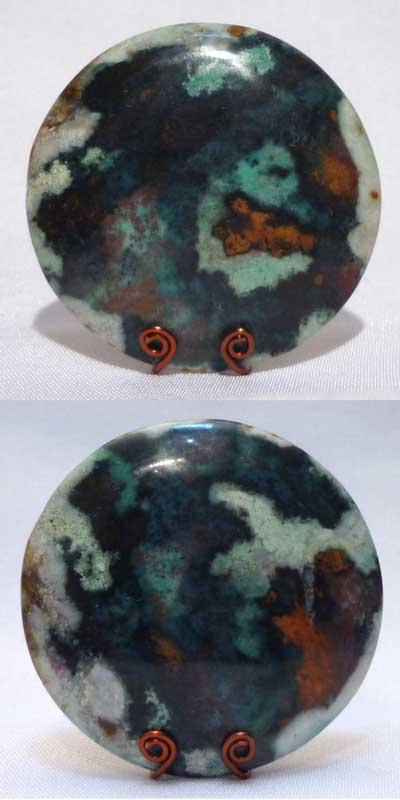 Multi color Chrysocolla