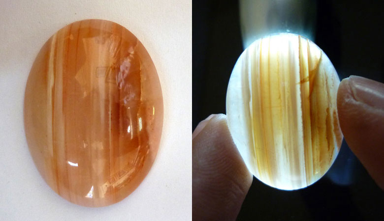Java Agate Cabochon - Indonesia